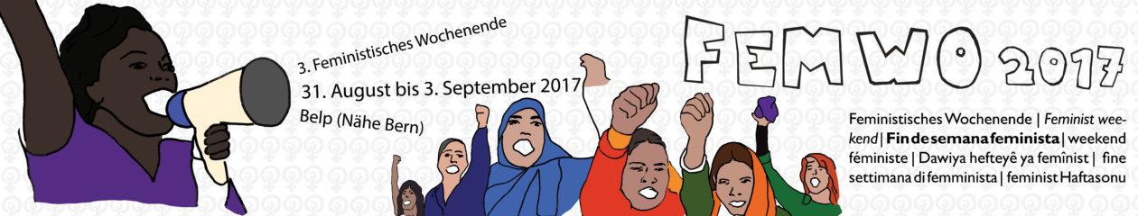 Feministisches Politikwochenende          14. – 17. Juli 2016